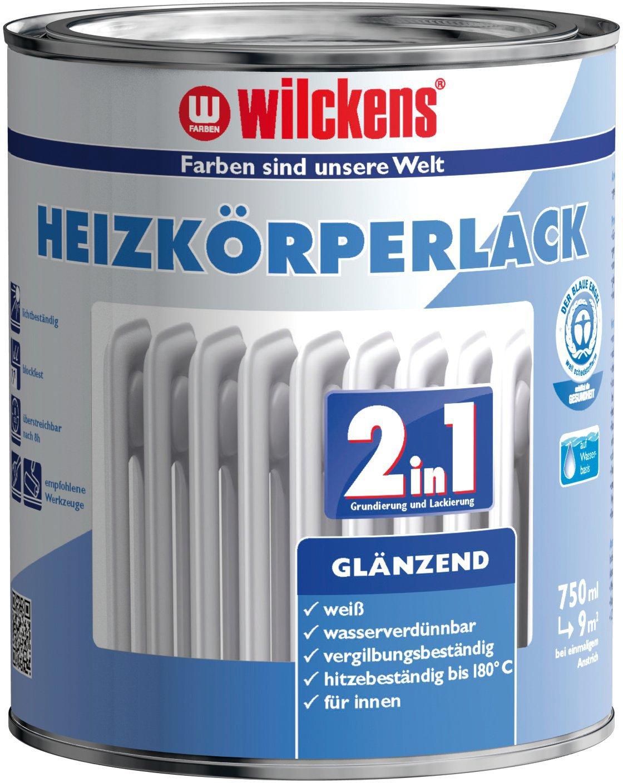 2in1 Heizkörperperlack glänzend 水性2合1散热器搪瓷漆