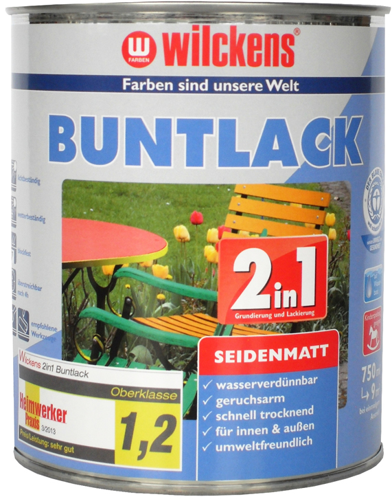 2in1 Buntlack seidenmatt  2合1多色丝光搪瓷漆