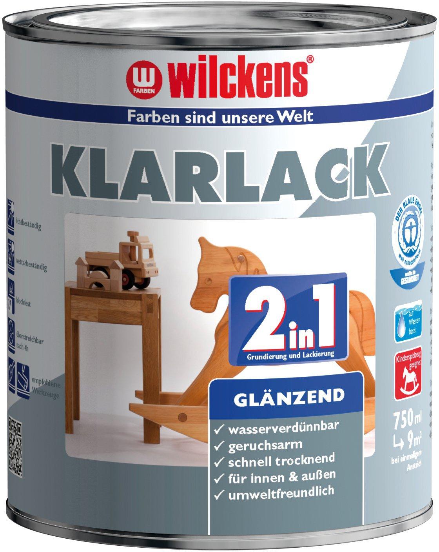 2in1 Klarlack glänzend 水性2合1高光家具清漆