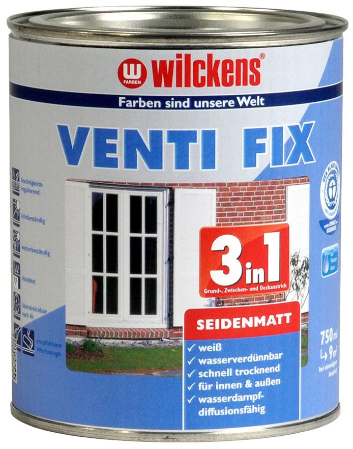 3in1 Venti Fix 水性3合1门窗家具丝光清漆